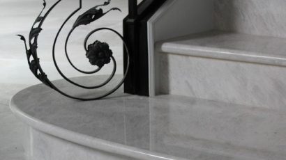 marble steps
