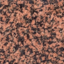 red granite polished